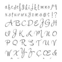 Brushstroke Alphabet