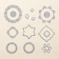 Eastern Medallions Thinlits - #143725